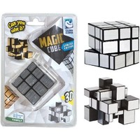 Magic puzzel cube zilver