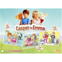 Puzzel Casper en Emma 3 in 1 16/24/32 stukjes