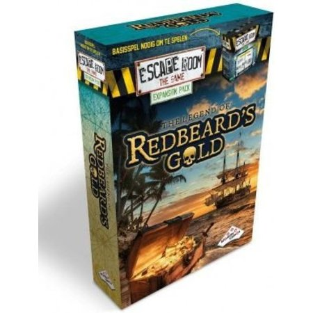 Identity Games Escape Room The Game expansion - Redbeard