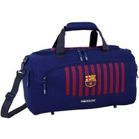 Sporttas barcelona rood/blauw 50x25x28 cm