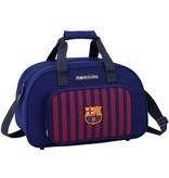 Barcelona FC Sporttas barcelona rood/blauw: 40x25x23 cm