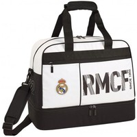 Sporttas real madrid wit: 48x38x27 cm
