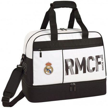 Real Madrid Sporttas real madrid wit: 48x38x27 cm