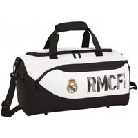 Sporttas real madrid wit 50x25x28 cm