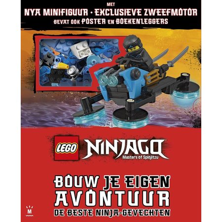 LEGO License Boek Lego Ninjago - bouw je eigen avontuur