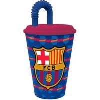 Beker met rietje barcelona 430 ml