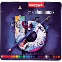 Kleurpotloden Teens Bruynzeel blauw: 24 stuks