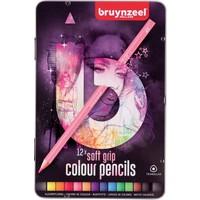 Bruynzeel Kleurpotloden soft Teens Bruynzeel roze: 12 stuks