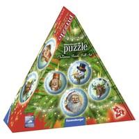 Puzzel kerstballen 3d: 27 stukjes