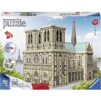 Puzzel Notre Dame Parijs 3d: 324 stukjes