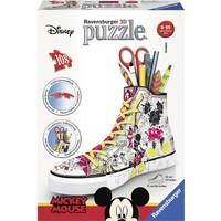 Puzzel Sneaker Mickey Mouse 3d: 108 stukjes