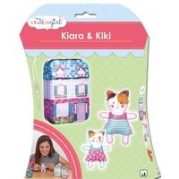 Knutselset My Studiogirl: Kiara & Kiki