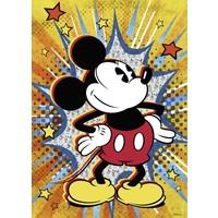 Puzzel Retro Mickey Mouse: 1000 stukjes