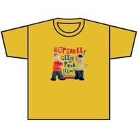T-shirt Buurman en Buurman geel