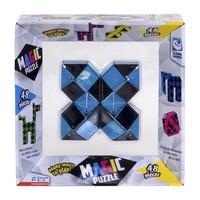 Magic puzzel blauw 48 stukjes