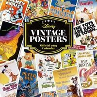 Kalender Disney Vintage Posters 2019: 30x30 cm