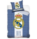 Real Madrid Dekbedovertrek real madrid blauw/wit/blauw 140x200/70x80 cm