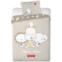Dekbed Fisher-price ledikant night: 100x135/40x60 cm