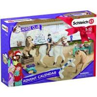 Schleich Adventskalender 97780 - Paard Speelfigurenset - Horse Club - 40 x 29,5 x 49 cm