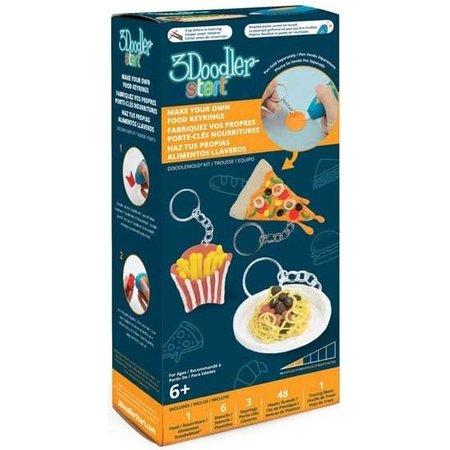 3Doodler 3Doodler maak je eigen food sleutelhangers