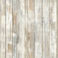Wandsticker RoomMates Peel & Stick Decor Distressed Wood
