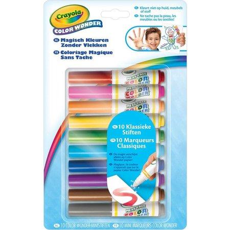 Crayola Color Wonder viltstiften mini Crayola: 10 stuks