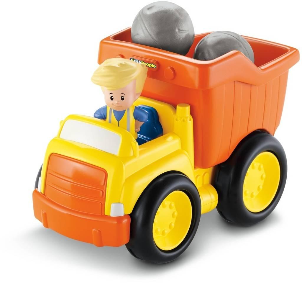 Fisher Price Little People Dump Truck