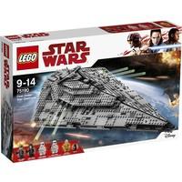 First Order Star Destroyer Lego