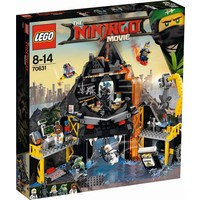 Garmadon`s vulkaanbasis Lego