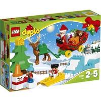 Wintervakantie van de Kerstman Lego Duplo