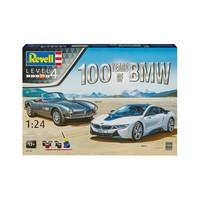 Geschenkset 100 jaar BMW Revell schaal 1:24