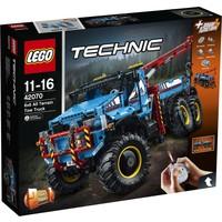 Allterrain sleepwagen 6x6 Lego