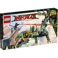 Groene ninja mecha draak Lego