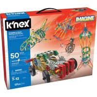 Bouwset 50 modellen K`nex gemotoriseerd: 529 stuks