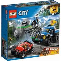 Modderweg achtervolging Lego