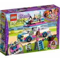 Olivia`s missievoertuig Lego