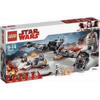 Verdediging van Crait Lego