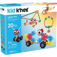 Zoomin` Rides Kid K`nex: 64 stuks