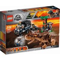 Gyrobolontsnapping van Carnotaurus Lego
