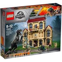 Indoraptorchaos bij Lockwood Estate Lego