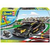 Raceauto zwart Revell Junior Kit: schaal 1:20
