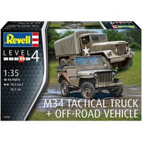 M34 Tactical Truck & Jeep Revell: schaal 1:35