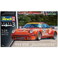 Porsche 934 RSR Jagermeister Revell: schaal 1:24