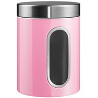 Wesco Voorraadbus met venster 2l Roze