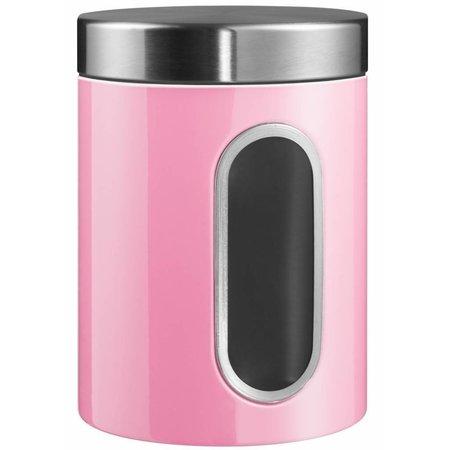 Wesco Wesco Voorraadbus met Venster Pink