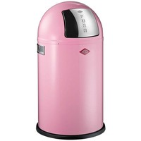 Wesco Pushboy Prullenbak Junior 22L Roze