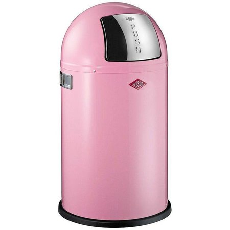 Wesco Wesco Pushboy Prullenbak Junior 22L Roze