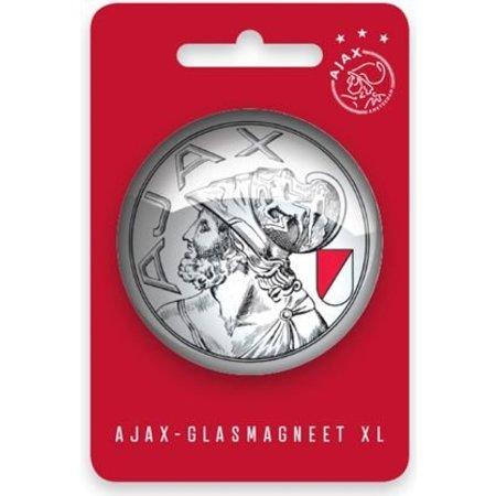 AJAX Amsterdam Magneet XL ajax oude logo: 5 cm