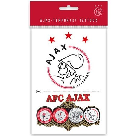 AJAX Amsterdam Sticker tattoo`s ajax