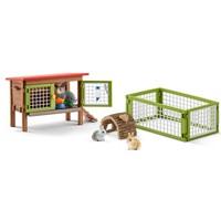 Schleich Konijnenhok 42420 - Speelfigurenset - Farm World - 25 x 10 x 16 cm